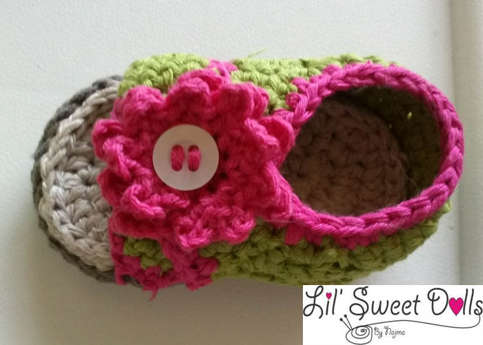sandalias bebe ganchillo  crochet baby shoes sandal