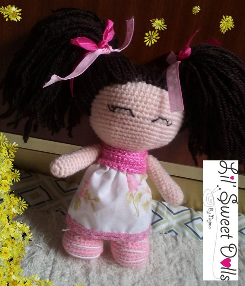 jenny lou crochet ganchillo doll  najma01