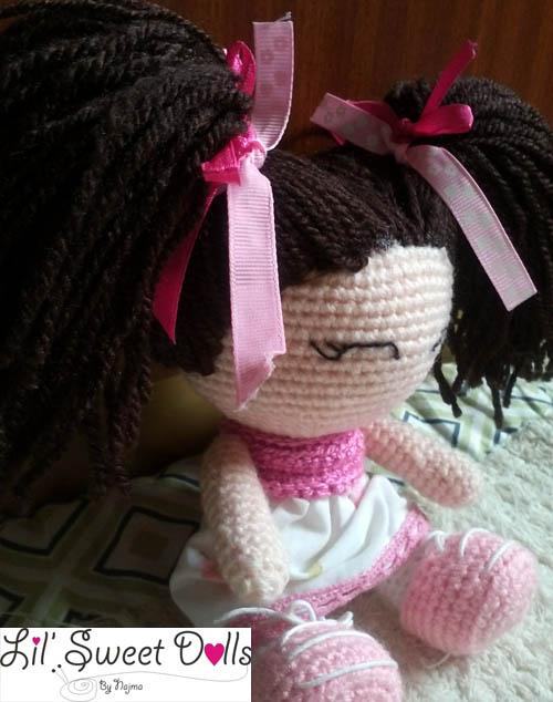 jenny lou crochet ganchillo doll  najma03