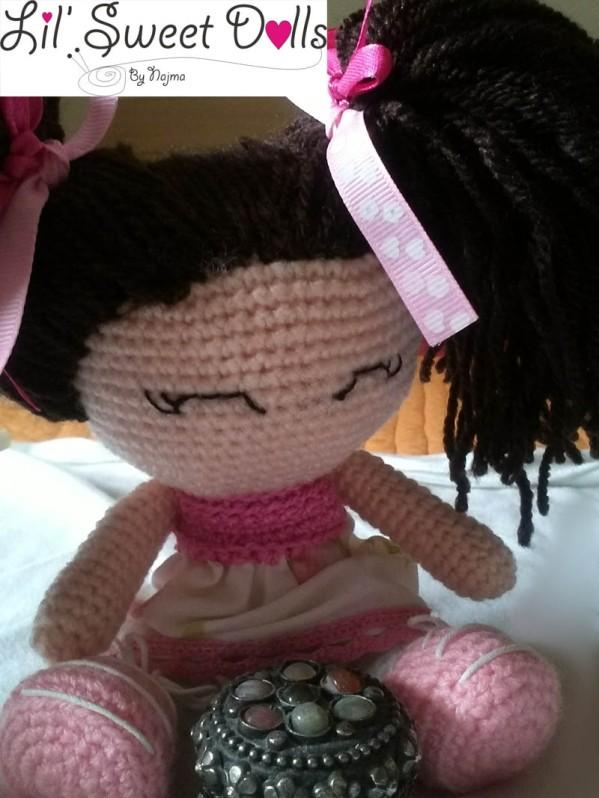 jenny lou crochet ganchillo doll  najma04