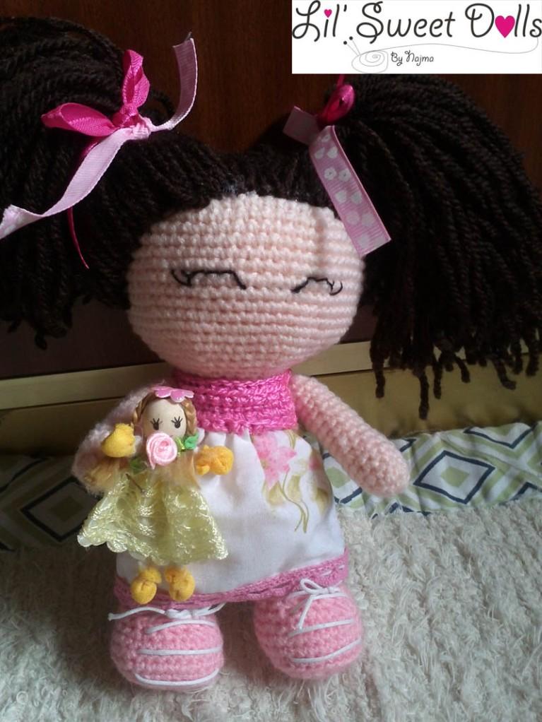 jenny lou crochet ganchillo doll  najma05