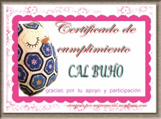 certificado cal buho