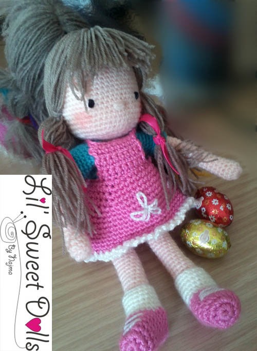 courtney crochet ganchillo doll  najma07