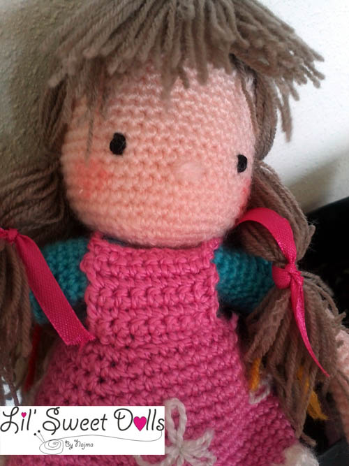 courtney crochet ganchillo doll  najma11