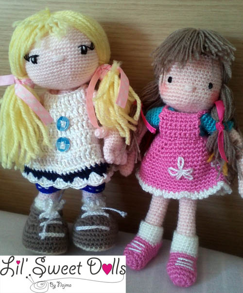 courtney crochet ganchillo doll  najma12