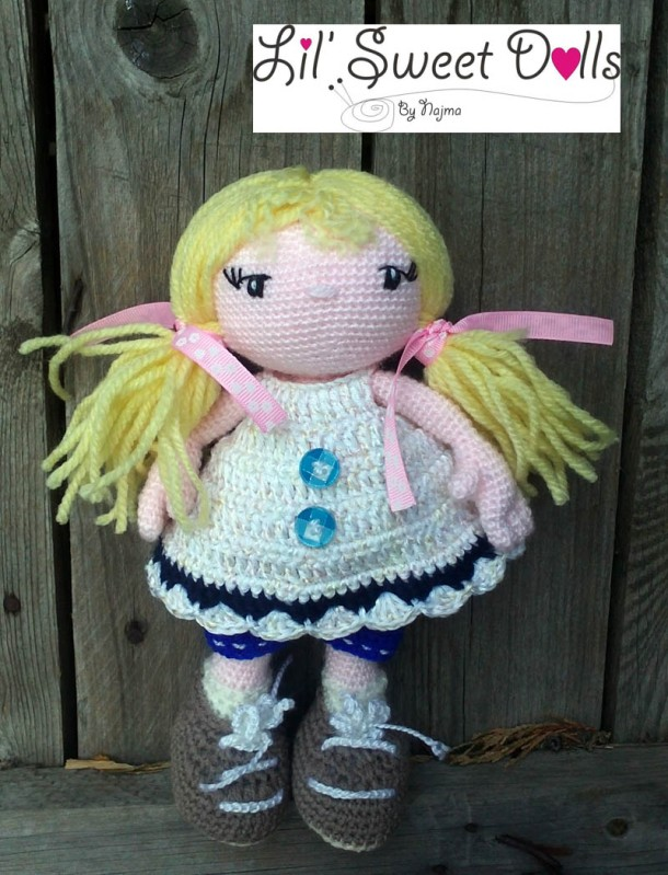 doll crochet ganchillo amigurumi