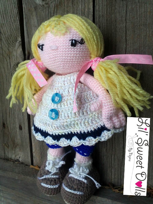 Polly, crochet doll | Labores de Najma