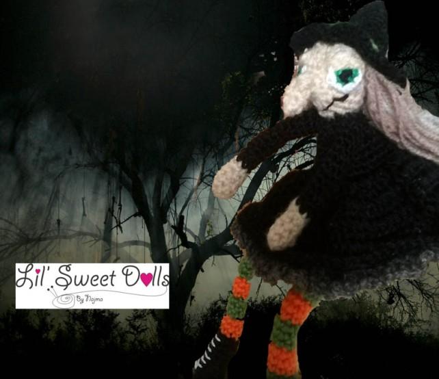 bruja ganchillo crochet witch