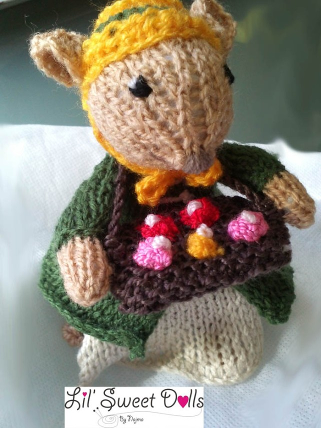 dickensian mice crochet ganchillo doll  najma06