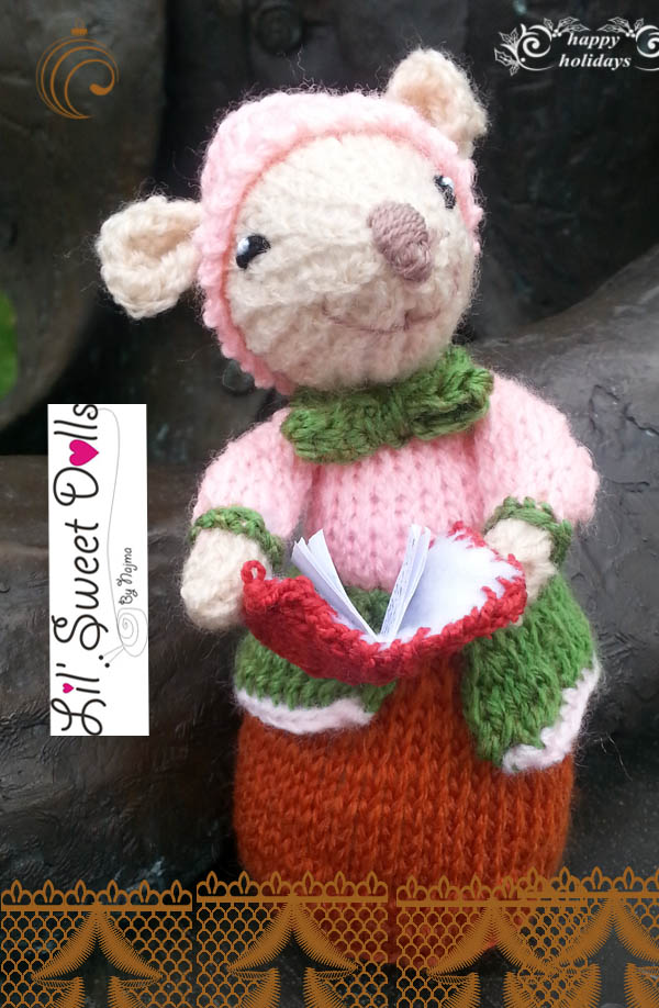 dickensian mice crochet ganchillo doll  najma10