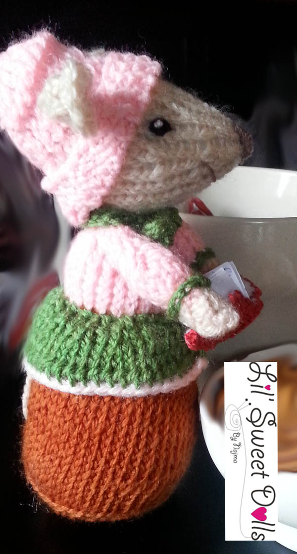 dickensian mice crochet ganchillo doll  najma16