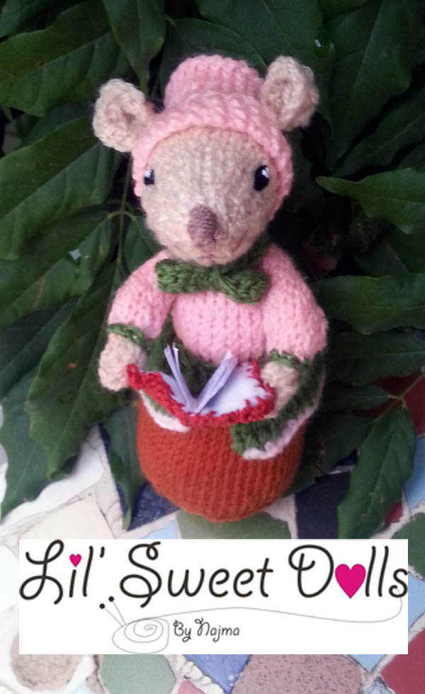 dickensian mice crochet ganchillo doll  najma19