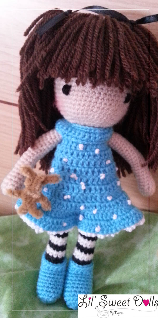 gorjuss crochet ganchillo doll  najma01