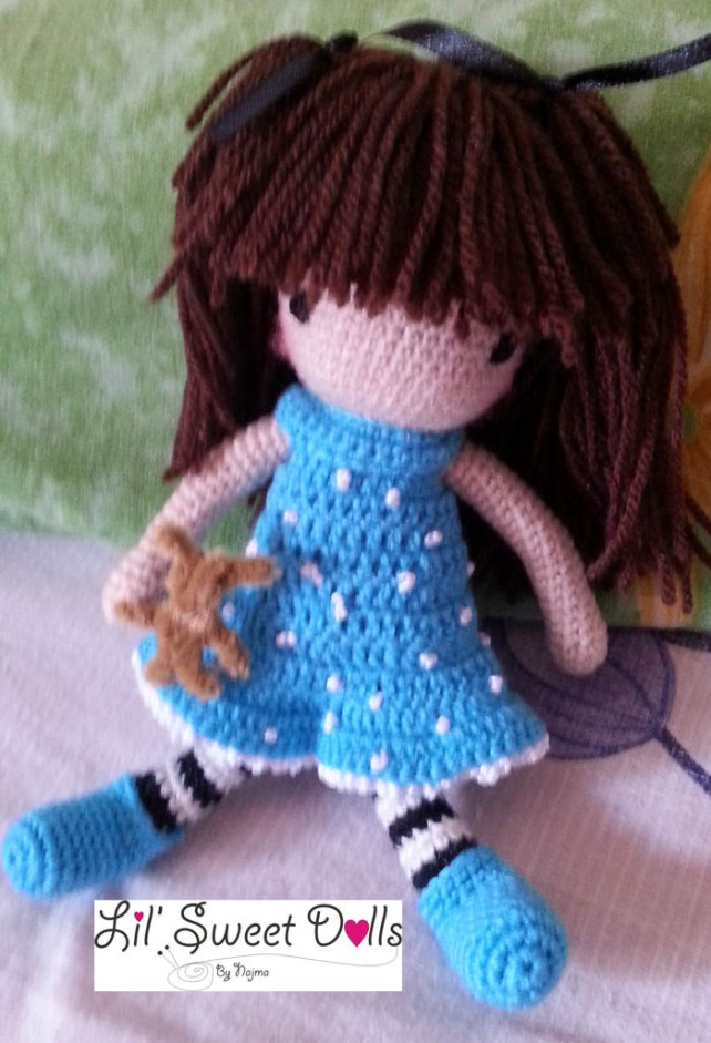 gorjuss crochet ganchillo doll  najma02