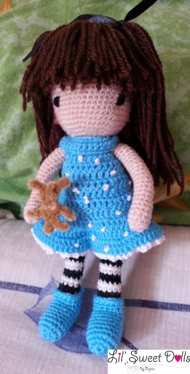 gorjuss crochet ganchillo doll  najma03