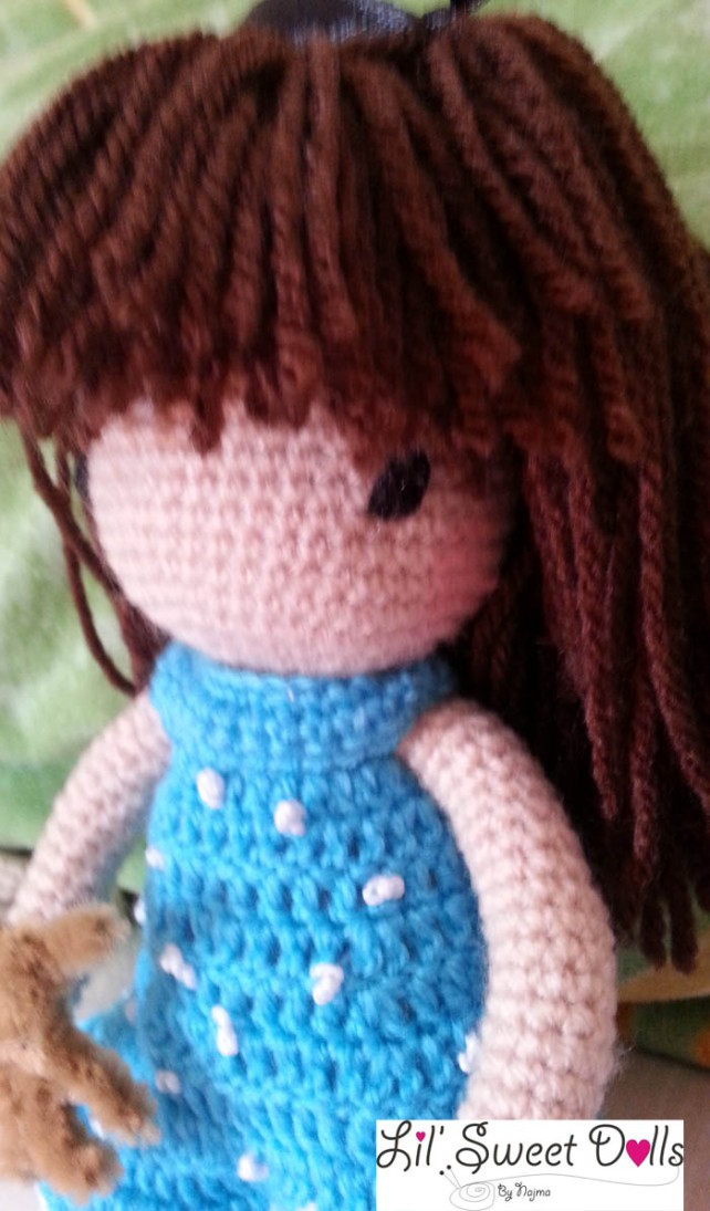 gorjuss crochet ganchillo doll  najma04