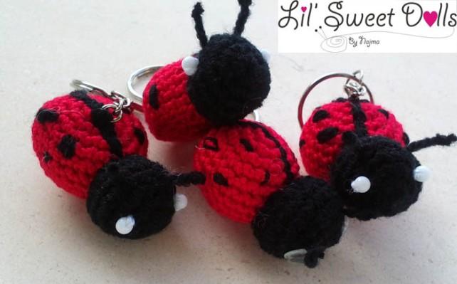 mariquita ganchillo ladybird crochet