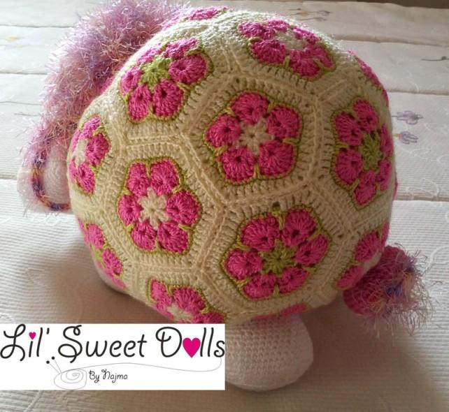 oveja amigurumi flores africanas african flower crochet sheep ganchillo