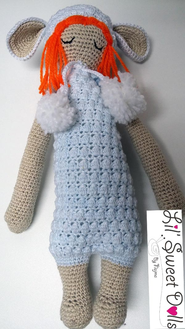 lupo lalylala crochet ganchillo doll  amigurumi najma01