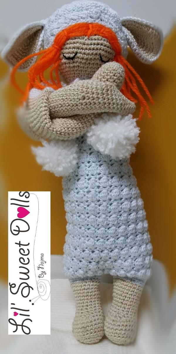 lupo lalylala crochet ganchillo doll  amigurumi najma03