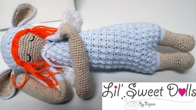 lupo lalylala crochet ganchillo doll  amigurumi najma06