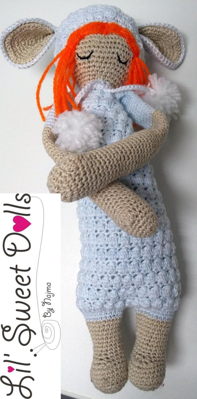lupo lalylala crochet ganchillo doll  amigurumi najma07