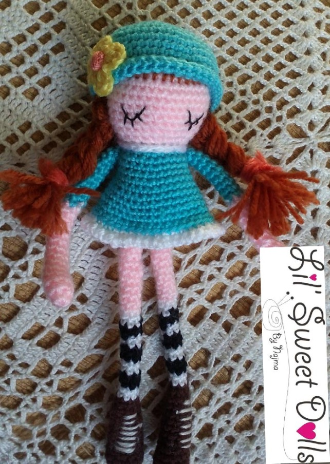 phoebe crochet ganchillo doll  amigurumi najma07