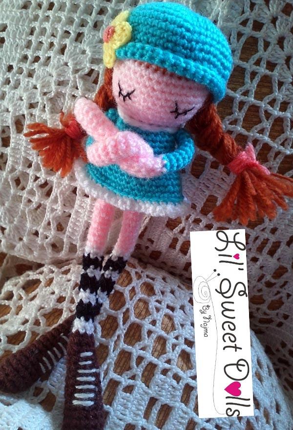 phoebe crochet ganchillo doll  amigurumi najma09