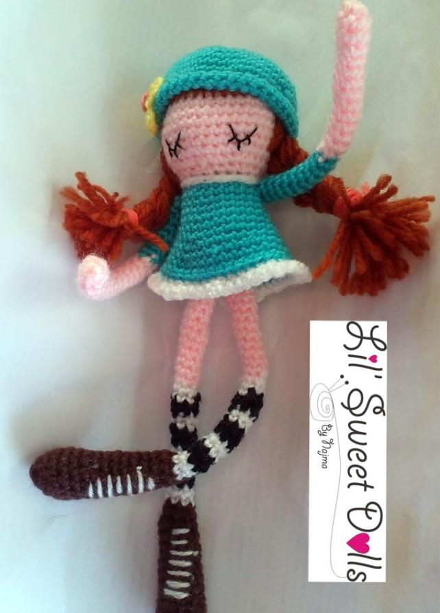 phoebe crochet ganchillo doll  amigurumi najma10