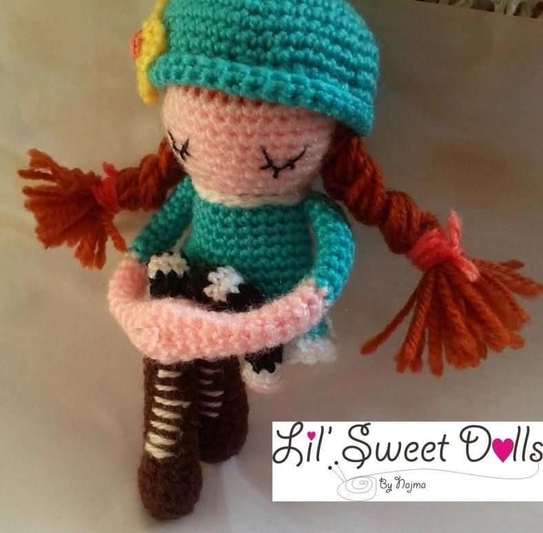 phoebe crochet ganchillo doll  amigurumi najma11