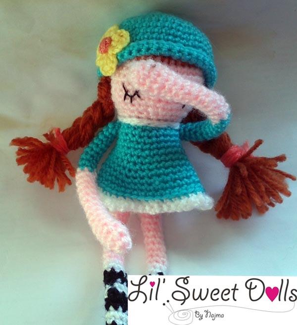phoebe crochet ganchillo doll  amigurumi najma12