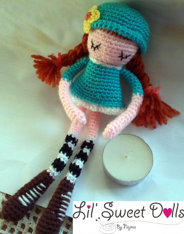 phoebe crochet ganchillo doll  amigurumi najma13