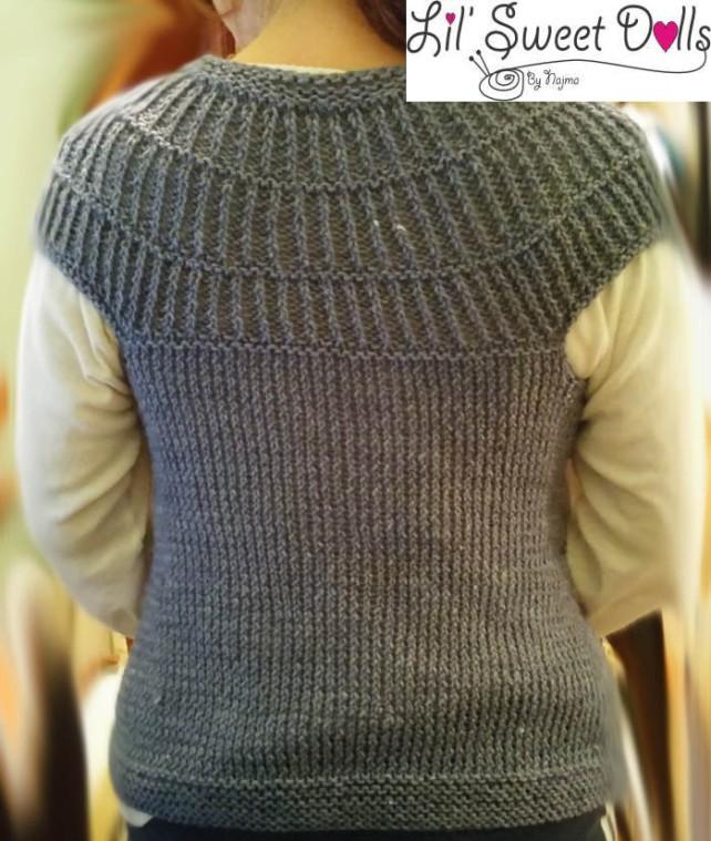 shalom cardigan chaqueta knit