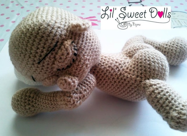 bebe amigurumi crochet baby toy