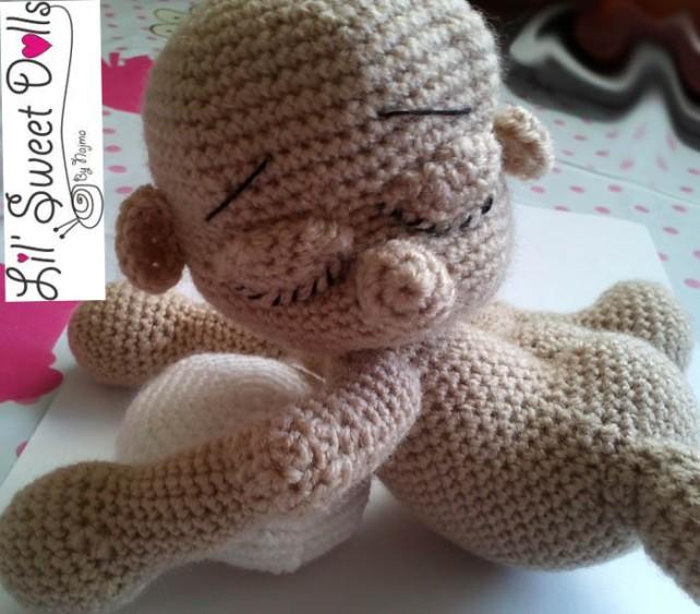 dormilon ganchillo crochet bebe
