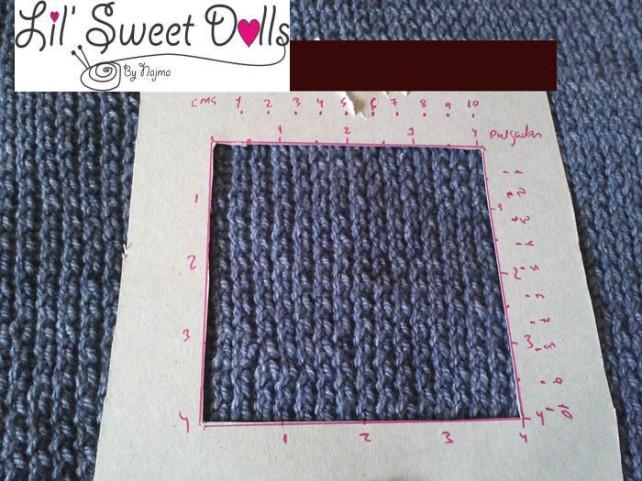 gauge medida knit