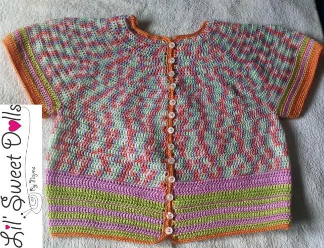 chaqueta ganchillo cardigan crochet najma