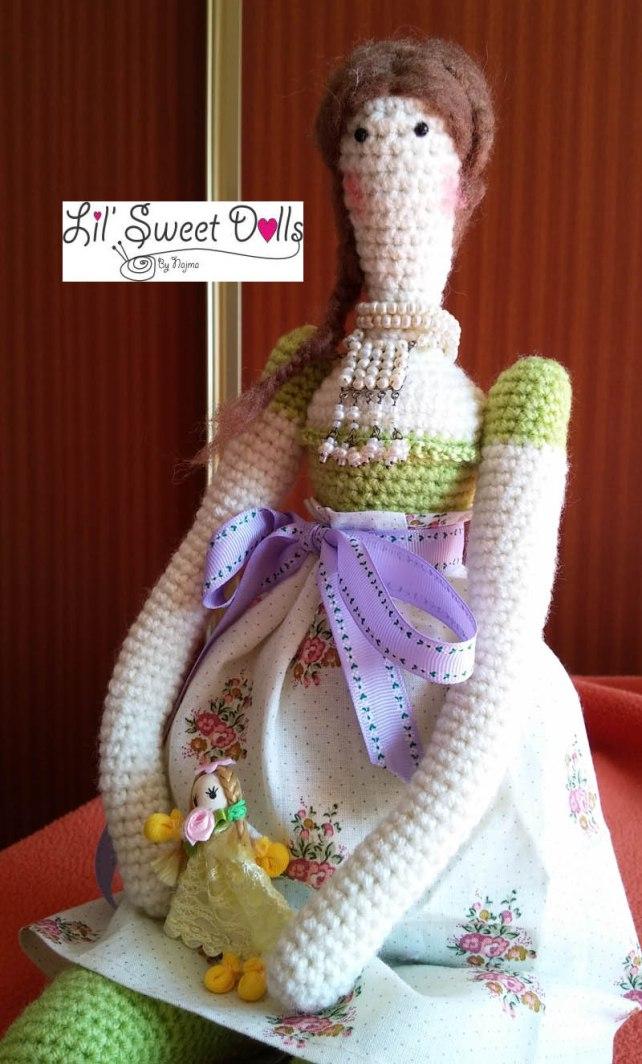tilda crochet ganchillo doll  amigurumi 02