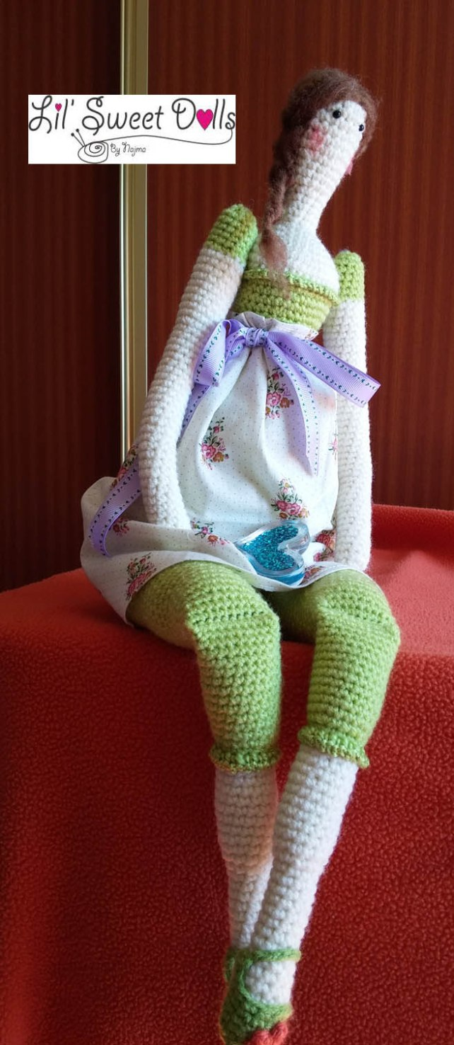 tilda crochet ganchillo doll  amigurumi 03