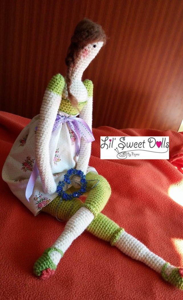 tilda crochet ganchillo doll  amigurumi 06