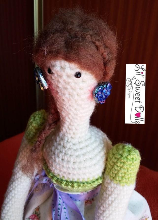 tilda crochet ganchillo doll  amigurumi 08