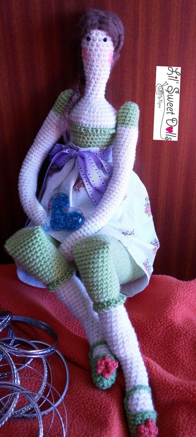 tilda crochet ganchillo doll  amigurumi 09
