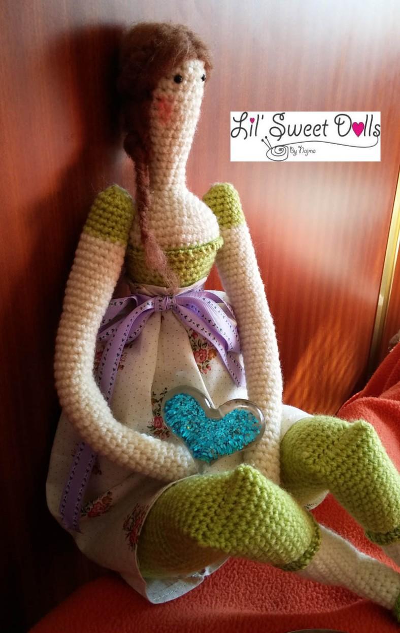 tilda crochet ganchillo doll  amigurumi 10