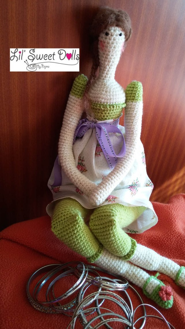 tilda crochet ganchillo doll  amigurumi 11