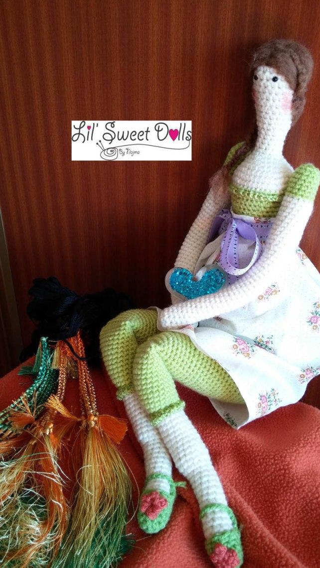 tilda crochet ganchillo doll  amigurumi 13