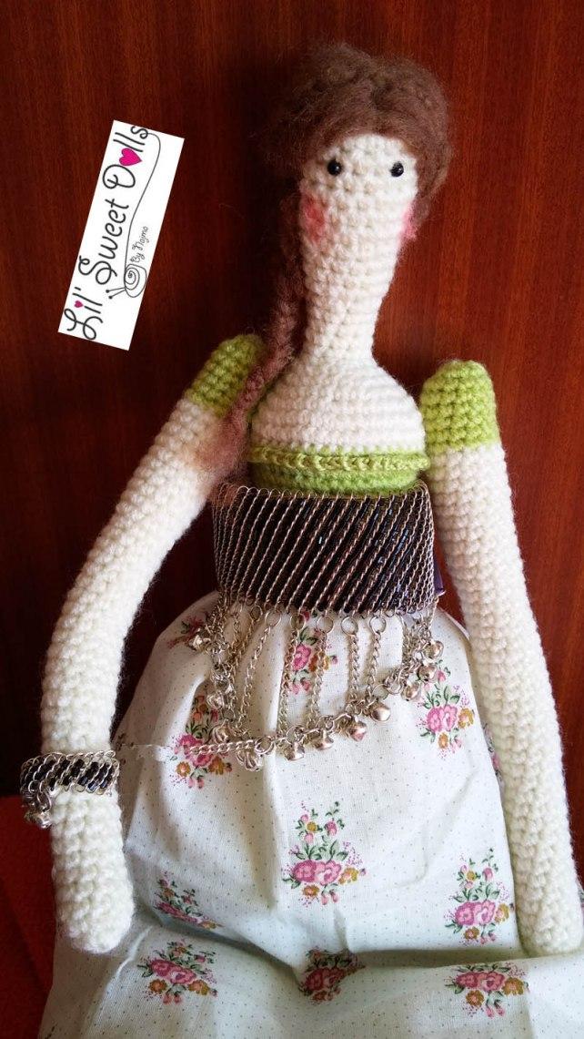 tilda crochet ganchillo doll  amigurumi 14