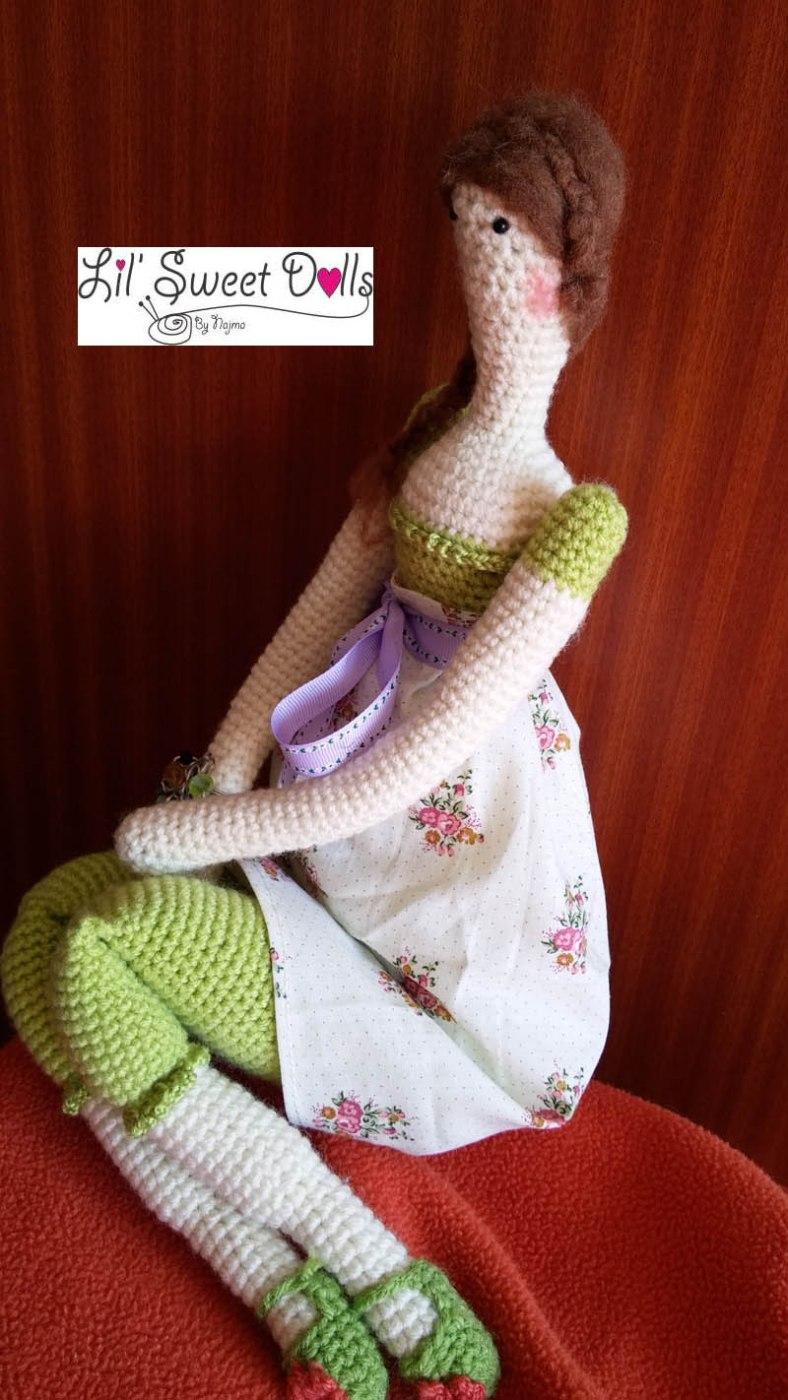 Tilda crochet doll amigurumi Lil Sweet Dolls