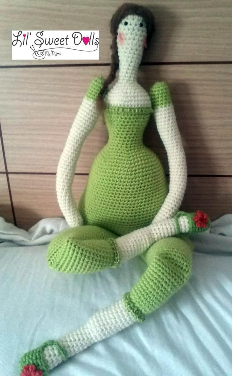 tilda crochet ganchillo doll  amigurumi najma07