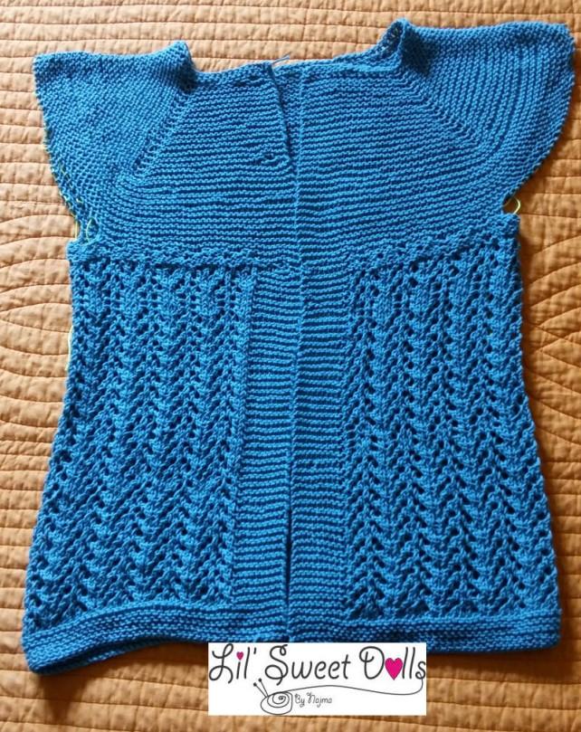 lady february cardigan knit
