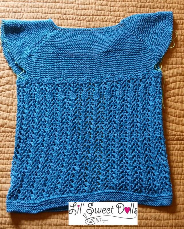 lady february cardigan knit chaqueta tejida